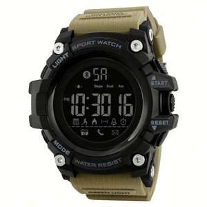 2019 upgrade version Skmei 1385 fashion smart sports wrist watches men  android smart watch for teenagers