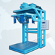 China fluorspar concentrate powder big bag-jumbo bag filling system by weight