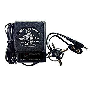 5 Volt Universal Transformer AC/DC Switchable Adapter 300mA 4 Multi-Plug Voltage Reducer, LED Battery, Walkman Radio Plugs