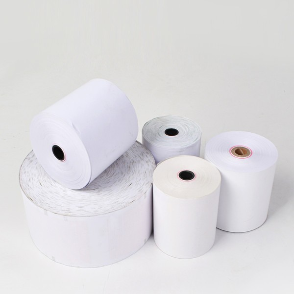cash register paper for POS ATM Blank Cash Register Thermal Paper Roll
