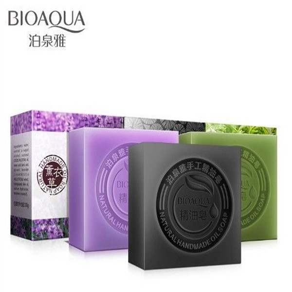 Bioaqua brands natural essence charcoal toilet soap