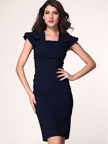 Fashion Dresses New Ladies Plus Size Fashion Elegant Western Women Formal  Dress - Buy Women Formal Dress,Ladies Fashion Formal Work Dresses,New Women  ...