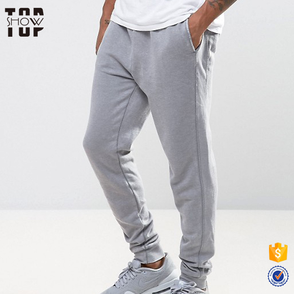 2017 new arrivals skinny fit mens sweat pants tech fleece pants