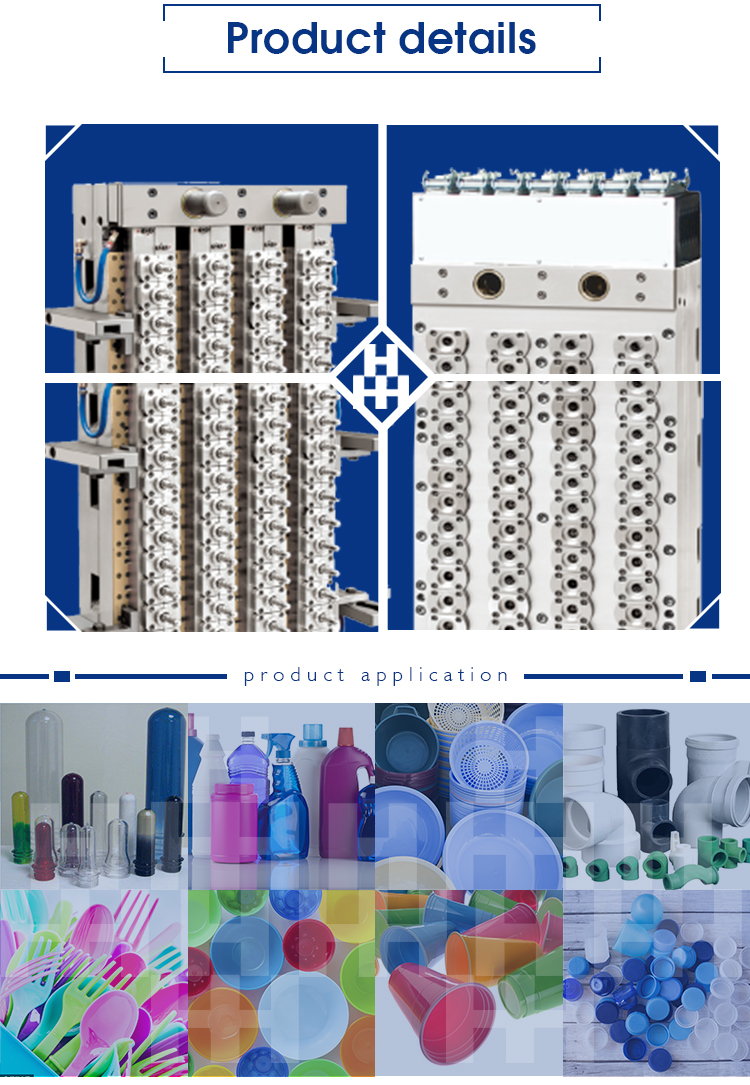PET preform Plastic injection moulds design making manufacturer