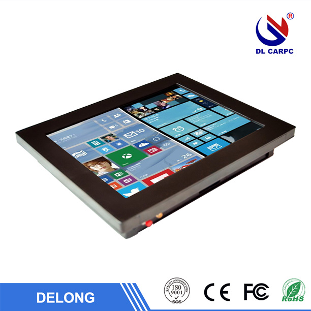 All In One Embedded Aluminum Computers Touch Screen Panel PC KIOSK Terminal