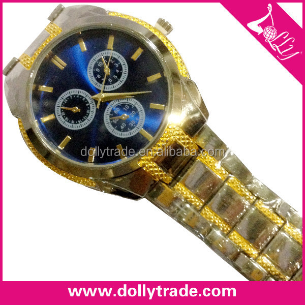 fake gold japan quartz goldlis watch
