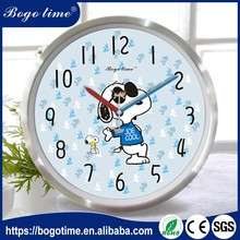 Latest New Model custom aluminum frame wall clock design
