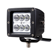 12V 3x3 Square cube 3inch 3'' 18w pods mini spot led work light for bicycle ,tractor,motorcycle headlight