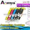 China factory supply pgi-650 cli-651 compatible ink cartridges for canon PIXMA MG5460/ IP7260/ MX726/ MX926/MG6360