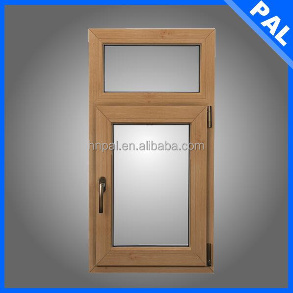 Arab style Wood laminated non-opening window in Mariana Is