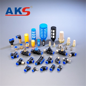 Customized professional asmv/lsm series pneumatic connector push quick fittings
