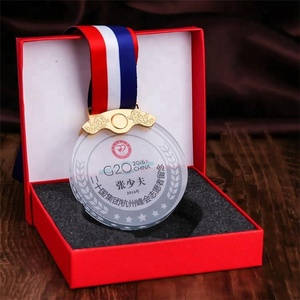 Wholesale cheap Customized 3D laser engraved football sports crystal glass medals and trophie for sports souvenir gifts