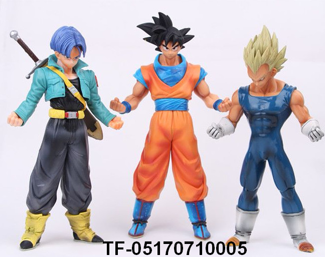DRAGON BALL Vegeta Trunks Goku and Gohan model toy
