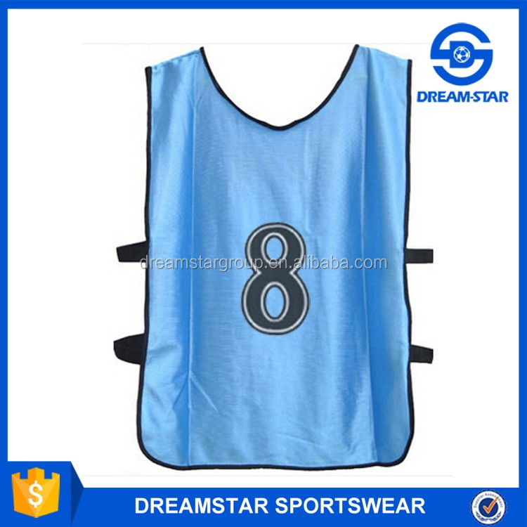 2016 Wholesale Custom High Quality Colorful Soccer Training Vest