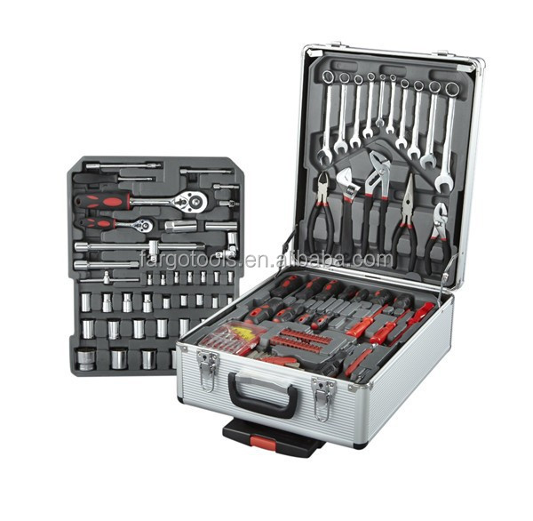 186PC Automotive TOOL KIT WITH Aluminium CASE