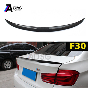 F30 & F80 carbon fiber rear trunk boot spoiler for B MW 3 series M-per performance