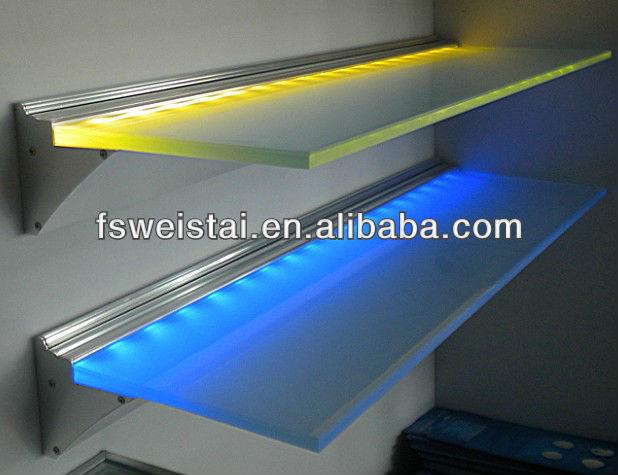 Led Glass Shelf Kitchen Cabinet Light /led Strip