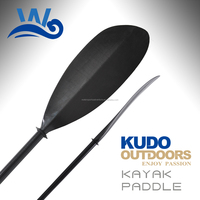 Whynot wholesale 4-Piece 3K Carbon Kayak Paddle