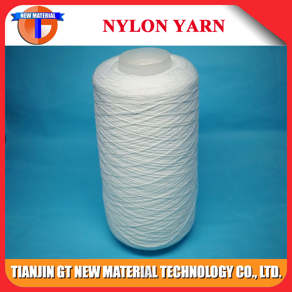 Showed that nylon yarn