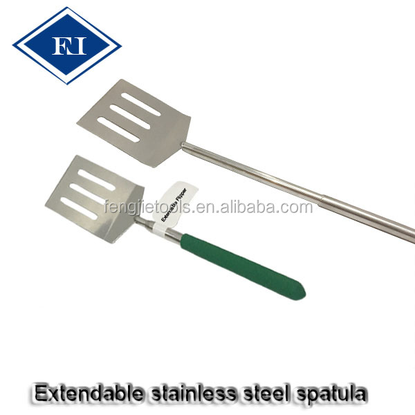 Heat Resistant Kitchen Metal BBQ Spatula For Baking
