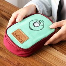 New Boy Girl Cartoon Pencil Case Bag Kawaii Canvas School Supplies Zipper Children Student Pen Sack Stationery Kids Gifts Prize