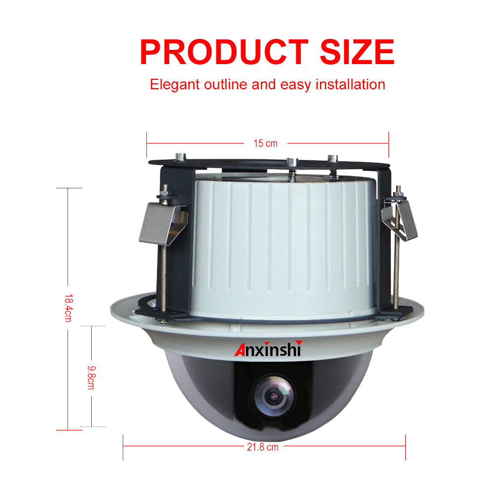 Sony IMX335 starlight 5mp 36x High Speed Dome ceiling ip ptz Camera