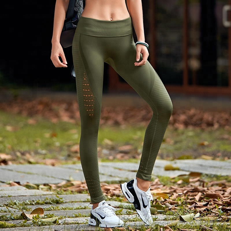 0803734177c5a wholesale custom girls high waisted workout yoga pants scrunch butt gym  clothes fitness sports wear leggings for women