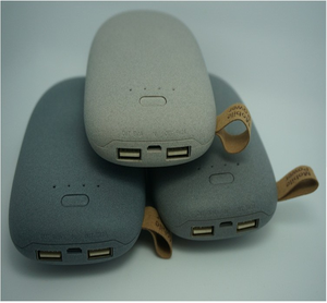 Mini stone 8000mAh power bank portable power bank