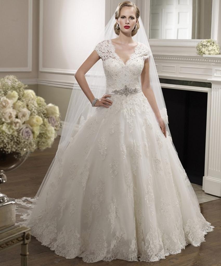 Aliexpress.com : Buy Short Sleeve Beaded Lace Wedding
