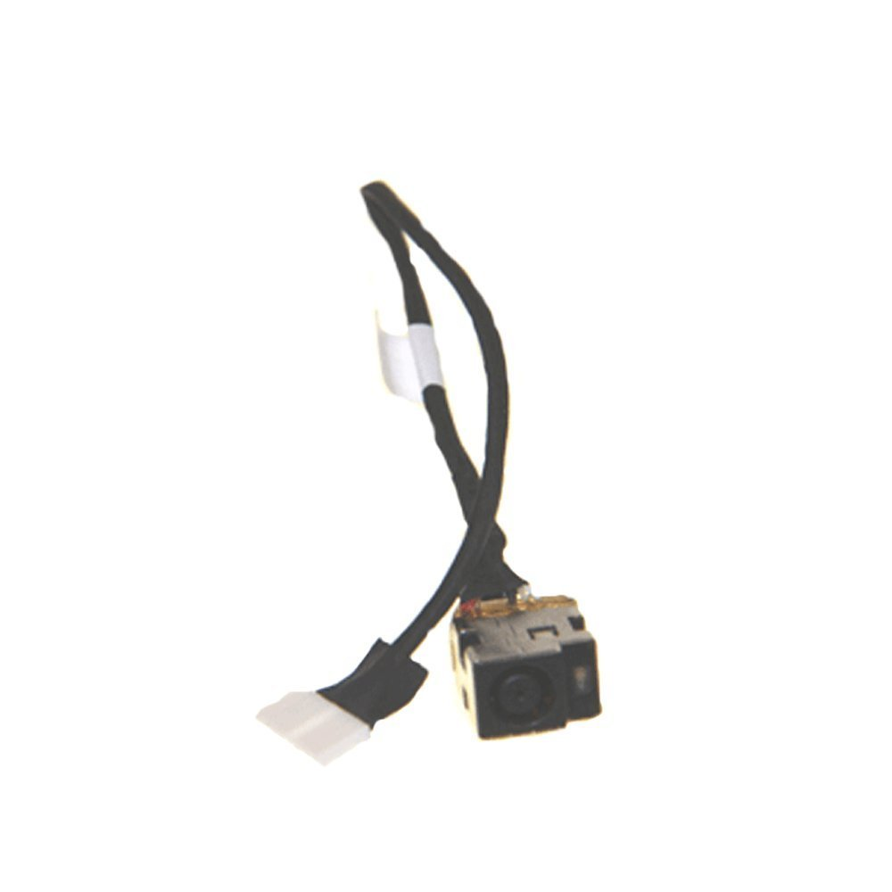 Get Quotations · New Ac Dc-in Power Jack w/Cable Harness Connector Socket  for HP Compaq