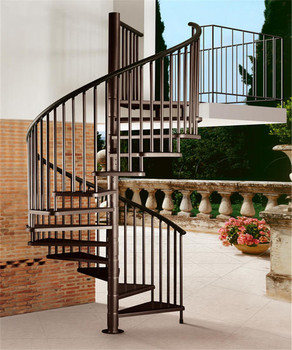 Used Spiral Staircase Space Save Prefabricated Stairs