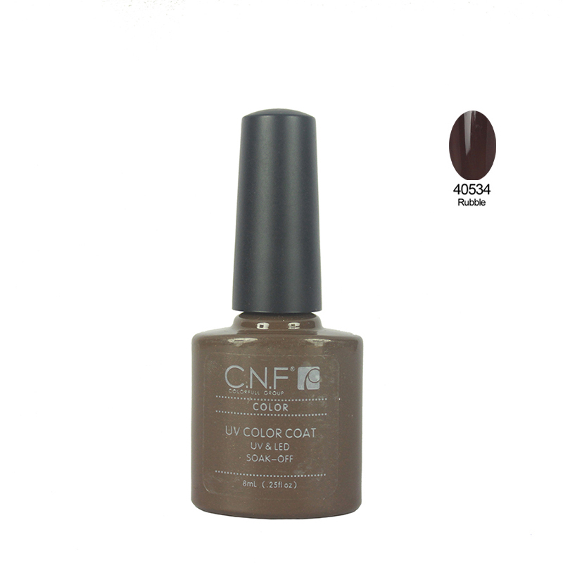 Choose 1PCS color 40534 7 3ml Professional CNF Soakoff UV Nails Color Gel polish Gels