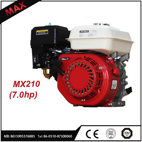 Low noise Low price 170F Air Cooled 4 Stroke 212CC Small Engine for sale