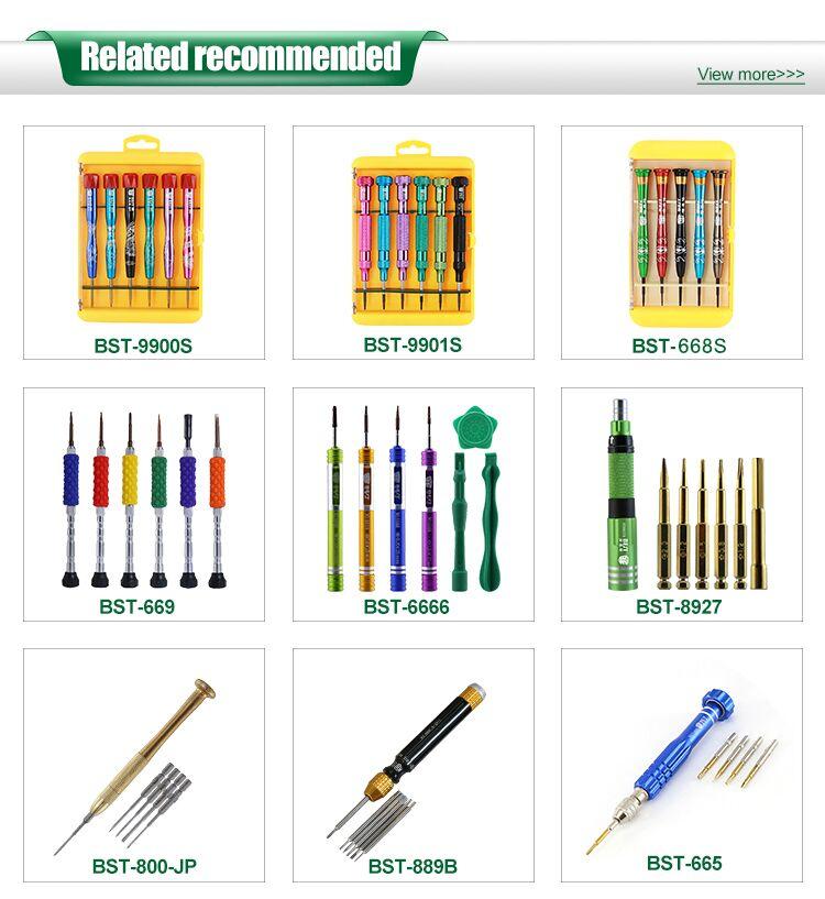BEST 6666 wholesale Precision Metal Mobile Phone Laptop Screwdriver Repair Tool