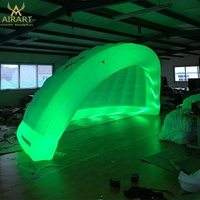 inflatable camping tent Party lighting decoration inflatable bubble camping tent