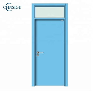 Technical doors timber door wood door for hospital room