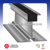 Aluminum hook connect rails and beams