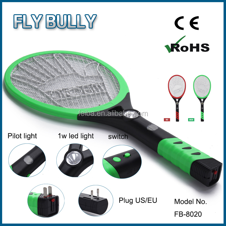 best seller product free sample electric fly zapper racket