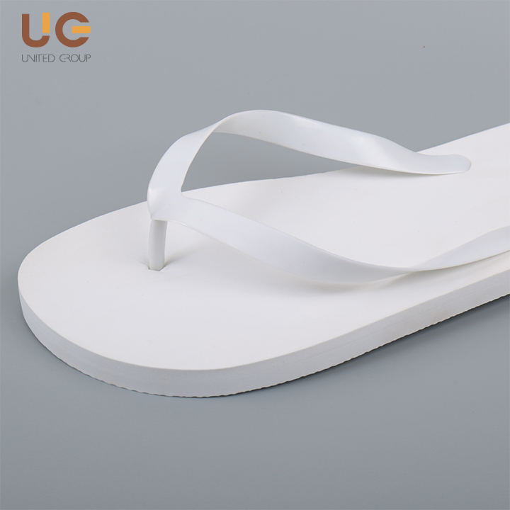 Brand men flip-flops with logo,white blank cheap wholesale high quality mens flip flops
