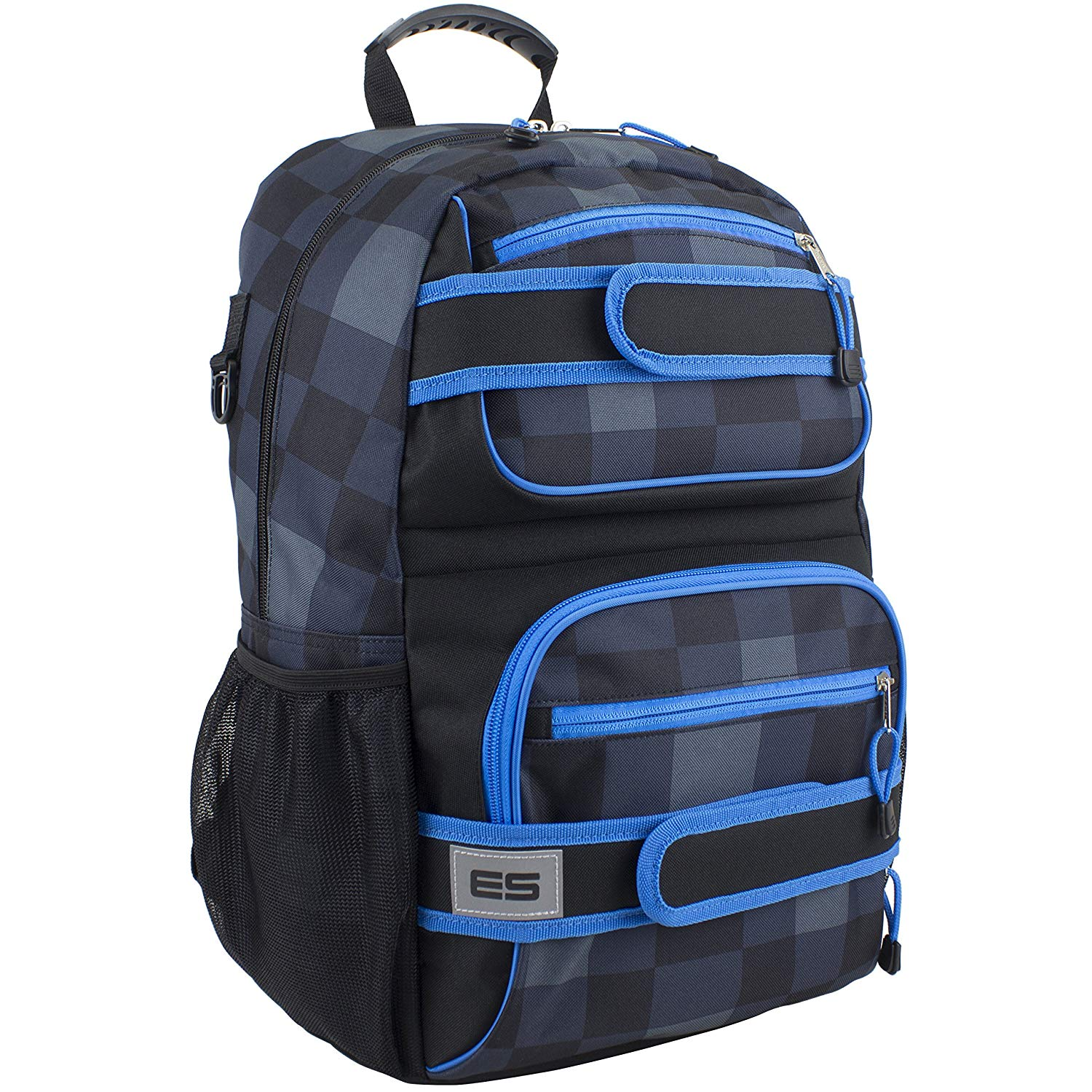73ccd8ce9 Buy Creede Backpack Black Blue Plaid by trans by Jansport in Cheap ...