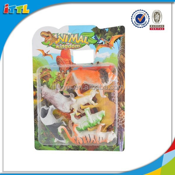 New kids items plastic animal toy farm for wholesale small plastic farm animal toy