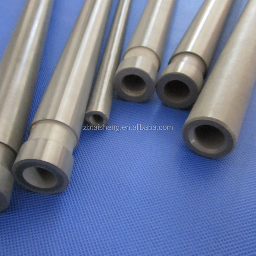 Industrial Ceramic Silicon Nitride Thermocouple Protection Tube For Molten Metal System