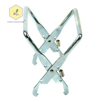 Beekeeping Equipment Galvanized Metal Hive Frame Holder Grip with Lifter Grip