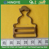 Brass Material Suspender Buckles For Jeans --- BK1512