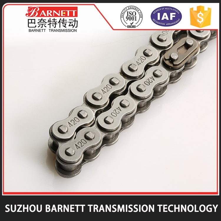 Wholesale Promotional China Manufacturer Double Row Motorcycle Chain