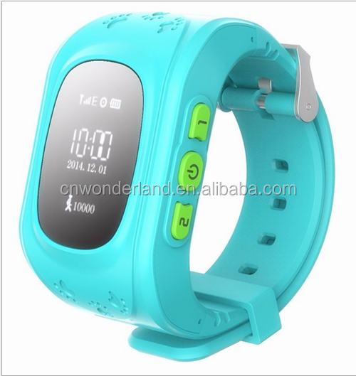 Hot sale 2016 New Children Smart watch phone Kids Tracking GPS watch