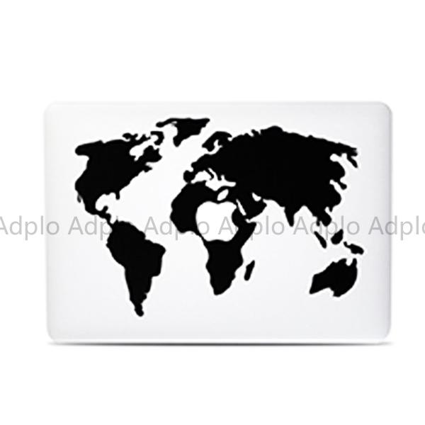 Карта мира 1 ноутбук скины наклейка костюм для Apple , 13