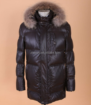 d3cc38458 Oem Wholesale Clothes Canada Winter Leather Coat Hood Long Down Jackets For  Men - Buy Long Down Jackets,Long Down Jackets,Goose Down Coats Men Product  ...
