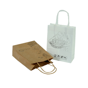 Competitive Price Ldpe Small Brown Kraft Paper Bag Without Handles