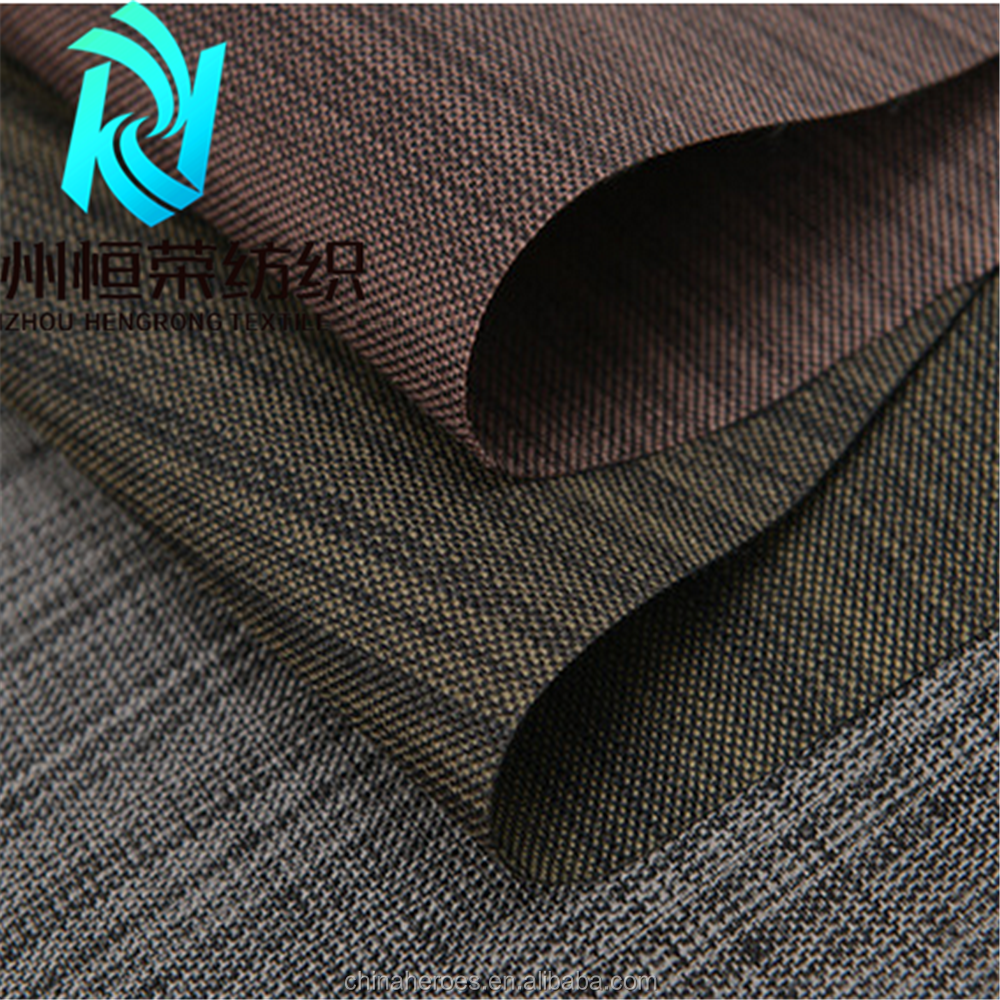 1200D Linen Look Cation fabric With PU coated waterproof oxford fabric for baby stroller orgaizer bags